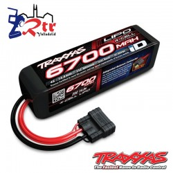 Power Cell LiPo 6700mAh 14.8V 4S 25C Traxxas