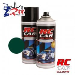 Pintura Rc Cars Colours Lexan Verde Oscuro Fluorescente con aditivo anti Nitro 150Ml