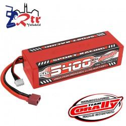 Lipo Team Coralli 3s 5400 Mha 50C Caja dura HardBox