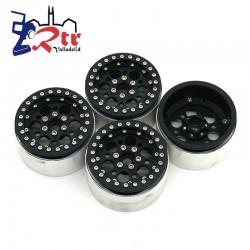 Llantas 2.2 aluminio Crawler beadlock 120gr cada una (4 Unidades)