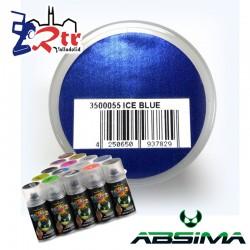 Pintura Absima Lexan Hielo Azul  con aditivo anti Nitro 150Ml