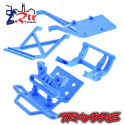 Parachoques Paragolpes Defensas Traxxas Monster 2wd TRA3623x TRA3621x TRA3677x Azul
