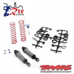 Traxxas Ultra Shocks (gris) (xx de largo) (completo) (trasero) TRA3762A