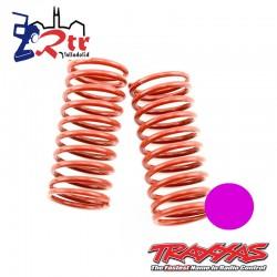 Muelles Rojos dureza 5.4(Rosa) Traxxas GTR TRA5443