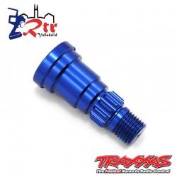 Eje de muñón, aluminio, anodizado azul TRA7753