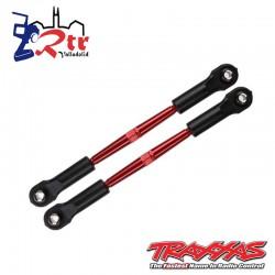 Varillas de unión delanteras Reforzadas Rojo 62mm TRA3139X