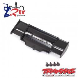 Alerón Trasero Traxxas Rustler Negro 4x4 TRA6721