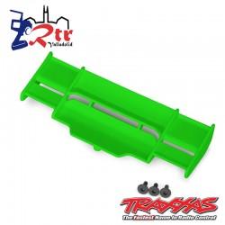 Alerón Trasero Traxxas Rustler Verde 4x4 TRA6721G