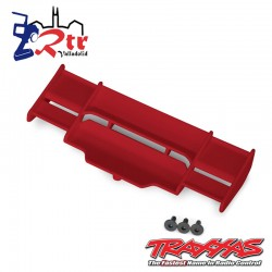 Alerón Trasero Traxxas Rustler Rojo 4x4 TRA6721R