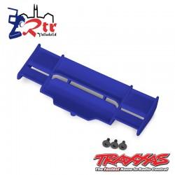 Alerón Trasero Traxxas Rustler Azul 4x4 TRA6721T