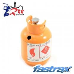 Bombona de Gas pintada Naranja Metálica Fastrax