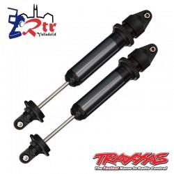Amortiguadores Traxxas GTX, aluminio, Negro anodizado TRA7761A