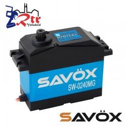 Servo Savox SW-0240MG Digital High Voltage Piñoneria Metalica