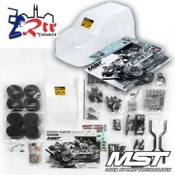 MST Crawler CMX J3 Jimny Kit Cuerpo Transparente