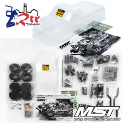 MST Crawler CMX Chevy C10 Kit 4Wd 1/10 Cuerpo Transparente