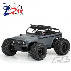 Proline Ambush Clear Body with Ridge-Line Trail Cage...