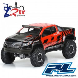 Proline Chevy Colorado ZR2 Cuerpo Transparente PR3517-00