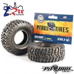 "PitBull Rock Beast W/2 1.9"" Ruedas con espumas"