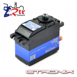 Servo Etronix 32.3 Kg 0.10 Seg Piñoneria Metalica