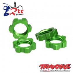 Tuercas Traxxas Hexagonales  Verde TRA5353A