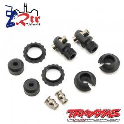 Tapas y retenes de resorte, amortiguadores GTS TRX-4 Traxxas TRA8264